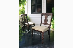 Paula Deen Home Tobacco Paula's Side Chair Set of 2