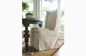 Paula Deen Home Tobacco Upholstered Side Chair Set of 2