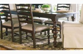 Paula Deen Home Tobacco Rectangular Extendable Table