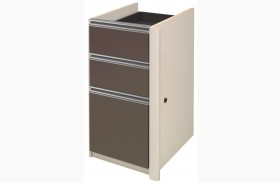 Connexion Slate & Sandstone Pedestal 2 utility drawers