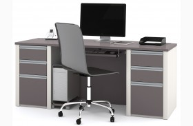 Connexion Slate & Sandstone Executive Desk Set