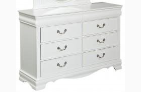 Jessica Clean White Dresser