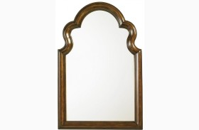 Coventry Hills Autumn Brown Saybrook Vertical Mirror