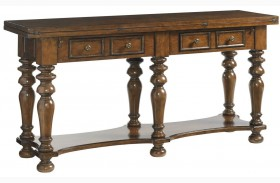 Coventry Hills Autumn Brown Rexford Flip Top Table