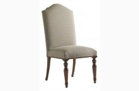 Coventry Hills Autumn Brown Chestnut Hills Upholstered Side Chair