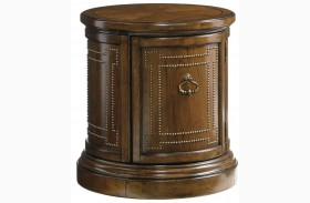 Coventry Hills Autumn Brown Darien Accent Table