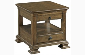 Portolone Rectangular End Table