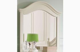 Camellia Marshmallow Paint White Mirror