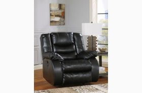 LineBacker DuraBlend Black Rocker Recliner