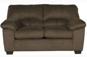 Dailey Chocolate Loveseat