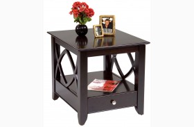 Piedmont Dark Mocha  End Table