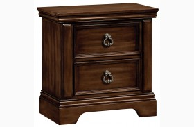 Charleston Burnished Tobacco Nightstand