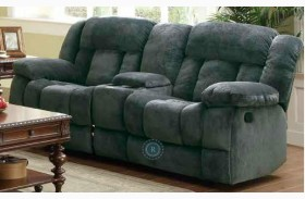 Laurelton Doble Glider Reclining Loveseat with Center Console