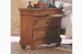 Tuscano Marble Top Bedside Chest