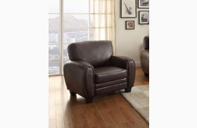 Rubin Dark Brown Chair