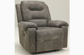 Rotation Smoke Power Rocker Recliner
