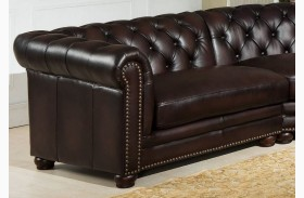 Kennedy Brown LAF Loveseat