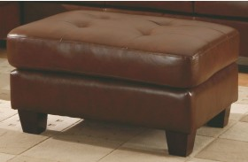 Morgan Brown Ottoman