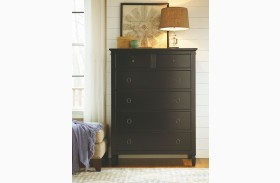 Summer Hill Midnight 6 Drawer Chest