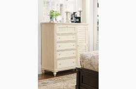 Paula Deen Home Linen 4 Drawer Door Chest