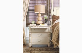 Paula Deen Home Linen 3 Drawer Nightstand