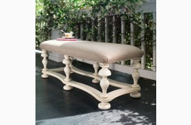 Paula Deen Home Linen Bed End Bench