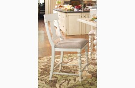 Paula Deen Home Linen Counter Height Chair Set of 2