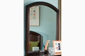 Park City Merlot Arched Dresser Mirror