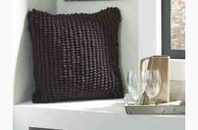 Lukas Black Finish Pillow Set of 4