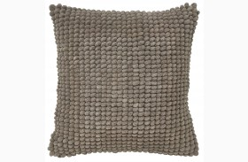 Lukas Taupe Pillow Set of 4
