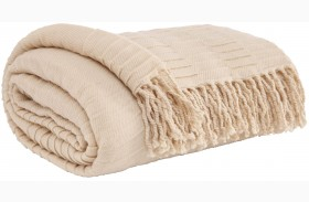 Mendez Off White Throw Set of 3