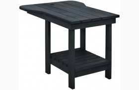 Generations Black Tete A Tete Upright Table