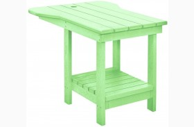 Generations Lime Green Tete A Tete Upright Table