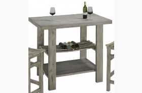 Cabernet Grey Bar Table