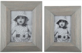 Cadewyn Gray Photo Frame Set of 2