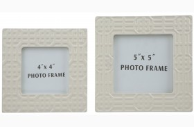 Kael Cream Photo Frame Set of 2