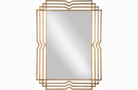 Tracey Antique Gold Accent Mirror