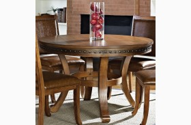 Ashbrook Oak Round Dining Table