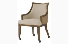 Grove Point Warm Khaki Woven Game Chair