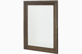 Park Studio Weathered Taupe Rectangular Mirror