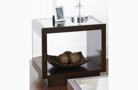 Aileen Merlot End Table