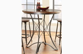 Adele Round Counter Height Dining Table