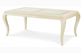 After Eight Pearl Leg Rectangular Dining Table