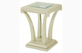 After Eight Pearl Croc Chair Side Table