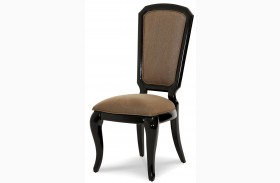 After Eight Black Onyx Side Chair