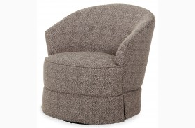 After Eight Dark Swivel Chair