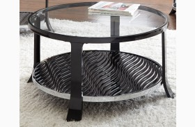 Abigail Round Cocktail Table