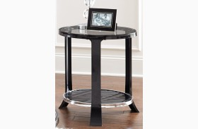Abigail Round End Table