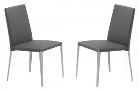 Air Gray Dining Chair Set of 2