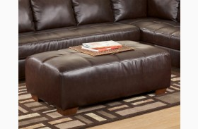 Fairplay DuraBlend Mahogany Oversized Accent Ottoman